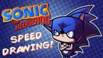 Speed Drawing - Sanic the Hordgehag by JoeHoganArt