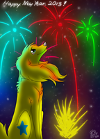Happy New Year 2013 !!! by Pixel-Candy