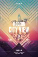 Modern City View Flyer by styleWish