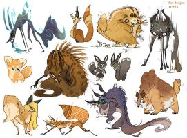 Many Foxes by FionaHsieh
