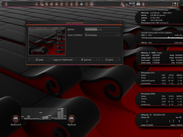 My Ubuntu 11.04 Black _ Red by Paz-1