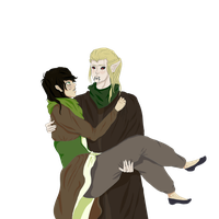 Analise And Bram by Lemonthrower