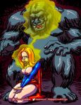 Supergirl mindcontroled by Gorilla Grodd by thegagster