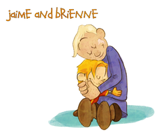Jaime and Brienne by TopHatTurtle