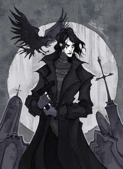 The Crow by IrenHorrors