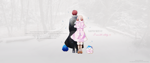 Mawaru Penguindrum I Will Stay Wallpaper by LucarioRose24