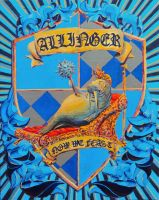 Allinger Crest by MikeBourbeauArt
