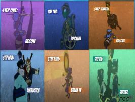 the steps of the worlds sly 4 by FCC93