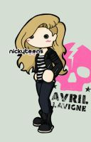 Avril Lavigne Punk by NickyToons