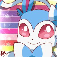 Sylveon Shiny by MaroonAbyss