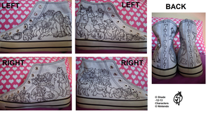 Shoeproject - Lineart version - WIP