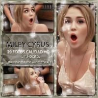 Photopack Miley cyrus by Annalittlemonster