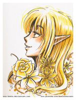 3 Marker Challenge, Wheat Elf by LemiaCrescent