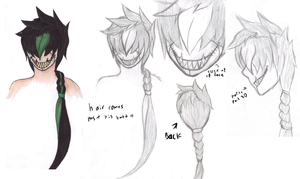 Possible new oc concept -head- by SapphireItrenore
