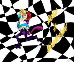Roxas in Wonderland by x-Lilou-chan-x