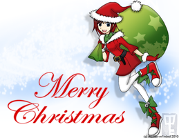 HoliDaze 2010: Santa Kairi by mell0w-m1nded