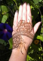 Henna Flowery Band by flowerwills