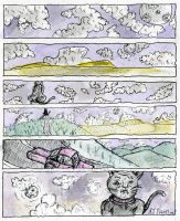 Cats Night Out - comic strip by antiflag8789