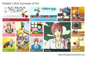Krisada's 2012 Summary of Art by Krisada