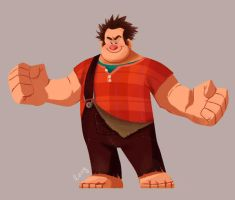 Wreck it ralph! by lucyelva
