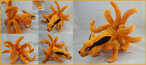 Naruto Kurama SOLD by darkpheonixchild