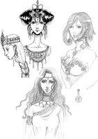 UFT sketches part 2 by Dar-chan