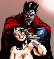 Supes is a VAMPIRE gasp by rainbow666