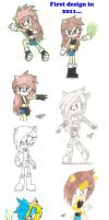 Electra's designs by Ackeradical