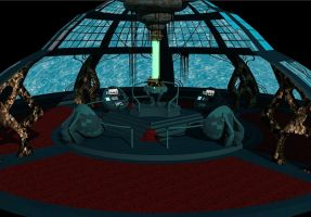 Tardis Console Room 3D by calamitySi