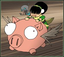 AtLA - RIDE the PIG by What-the-Gaff