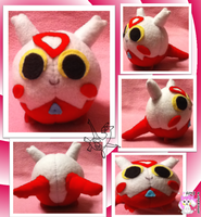 Latias Ball Plushie by Ami-Plushies