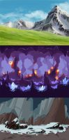 2d game backgrounds by Buka215