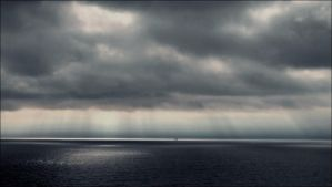 A Sudden Downpour In The Archipelago Sea  by eskile