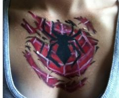Spider girl chest by captainsarasparrow