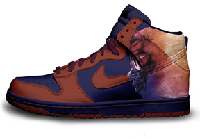 Kid Cudi Nike Dunks - Dudes V by Tramatize