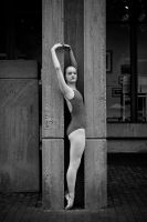Dancer in Grey I by HowNowVihao
