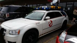 Free Comic Day Ghostbuster Car by SingingFlames