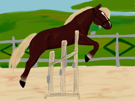 Conformation Trials: Free Jump by silvershore