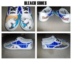 Bleach Shoes by Toxique-Doom