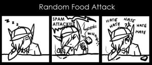 Random Food Attack by BlackMage339