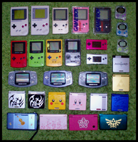 Nintendo Portable Collection by WolfPink
