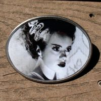 BRIDE OF FRANKENSTEIN Buckle by Horribell-Originals