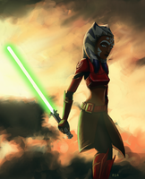 General Ahsoka- close up by Raikoh-illust