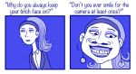 Why some people never smile by Chocoreaper