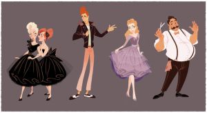 Cinderella Re-Imagined! by JoceyDraws
