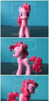 FOR SALE: Pinkie Pie Custom G4 pony by EmR0304