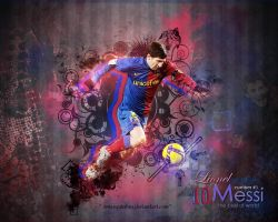 Messi Wallpaper by xMarquinhos