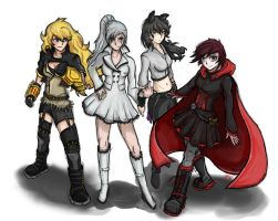 RWBY group pic by 123shaneb