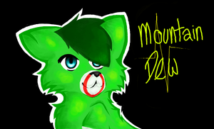 Mountain Dew- Gift by TheCluelessCat