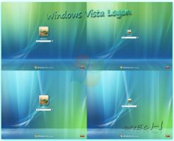 Windows Vista Logon by sahtel08